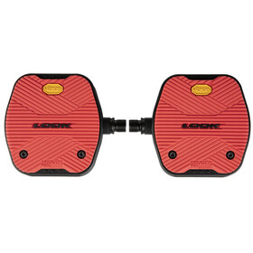 Look Geo City Grip Pedals red